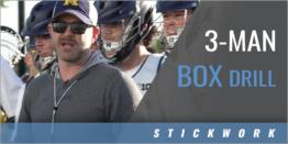 3-Man Box Drill