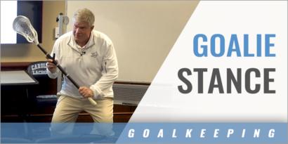 Goalie Stance