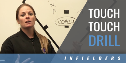Touch Touch Infielders Drill