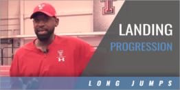 Long Jump Landing Progression
