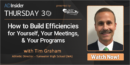 EP 52: How to Build Efficiencies for Yourself, Your Meetings, and Your Programs with Tim Graham – Tumwater High School (WA)