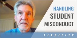 How to Appropriately Handle Student Misconduct