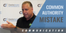 A Common Mistake People in Authority Make with Dr. Lee Dorpfeld – Univ. of South Florida