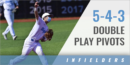 5-4-3 Double Play Pivots Drill with Dai Dai Otaka – Johns Hopkins Univ.