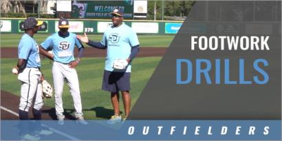 Outfielder's Footwork Drills