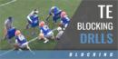 TE Blocking Drills with Tim Brewster – Univ. of Florida