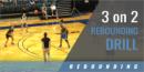 3 on 2 Rebounding Drill with Charli Turner Thorne – Arizona State Univ.