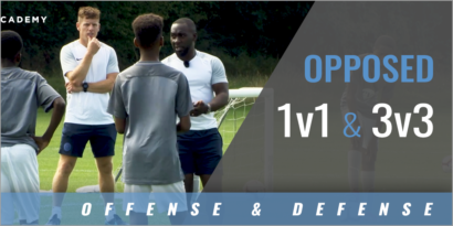 Opposed 1v1 and 3v3 Practice Sessions