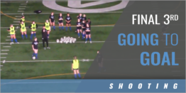 Final Third Going to Goal 2v1 Drill