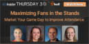 EP 57: Maximizing Fans in the Stands: Marketing Game Day