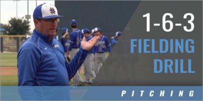 Pitcher's 1-6-3 Fielding Drill