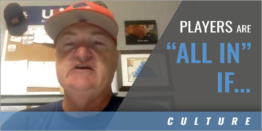 """Players Are """"All In"""" If... with"""