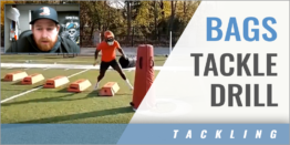 Bags Tackle Drill