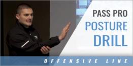 Pass Pro Posture Drill