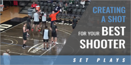 Creating a Shot for the Best 3-Point Shooter vs. Zone Defense