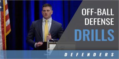 Drills to Develop Off-Ball Defense