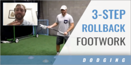 3-Step Rollback Footwork Drill