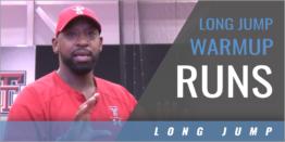 Long Jump Warmup Runs