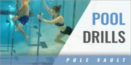 Pole Vault Swimming Pool Drills
