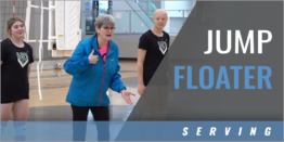 Teaching the Jump Floater