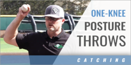 Catching: One-Knee Posture Throws