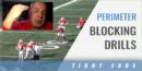 TEs Perimeter Blocking Drills with Kevin Wilson – Ohio State Univ.