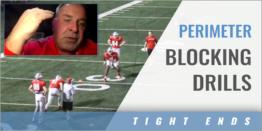 TEs Perimeter Blocking Drills