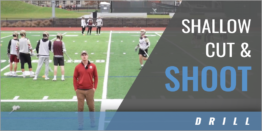 Shallow Cut and Shoot Drill