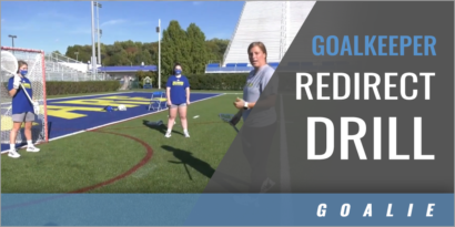 Goalkeeper Redirect Drill