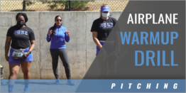 Pitching: Airplane Warmup Drill