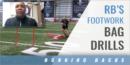 RB's Footwork Bag Drills with Jabbar Juluke – Univ. of Louisiana at Lafayette