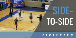 Side-to-Side Finishing Drill