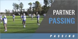 Partner Passing Drills