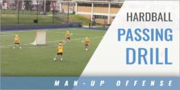 Man-Up Offense: Hardball Passing Drill