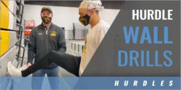 300m Hurdle Wall Drills