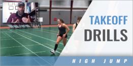 High Jump Takeoff Drills