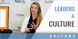 Developing Leaders and Creating Culture